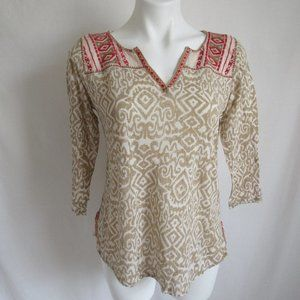 Lucky Brand  Beige Knit Top Women's S